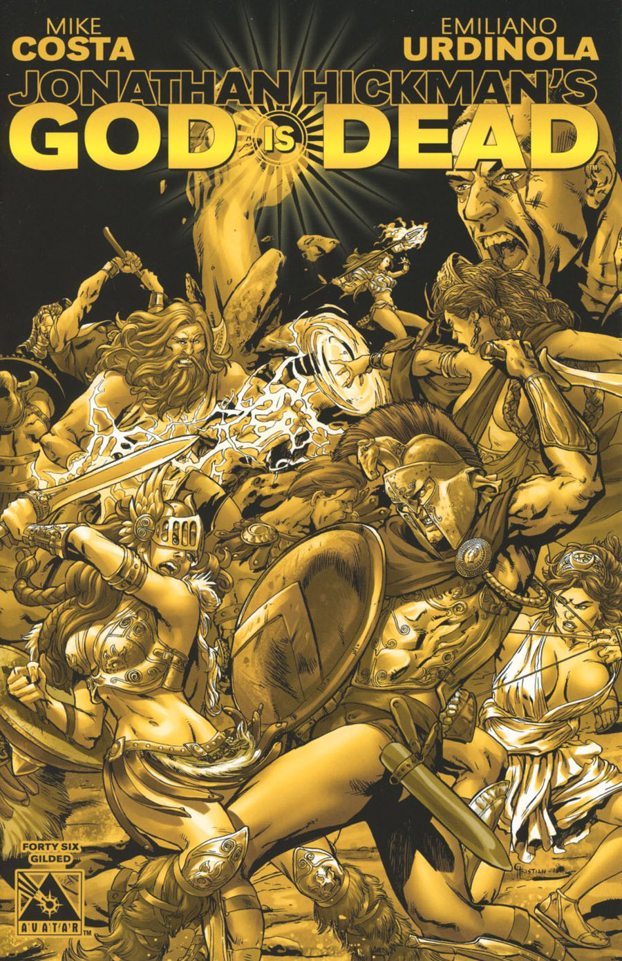 God Is Dead #46 Cover F Incentive Gilded Cover
