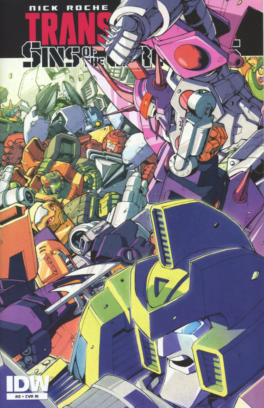 Transformers Sins Of The Wreckers #2 Cover C Incentive Andrew Griffith Variant Cover