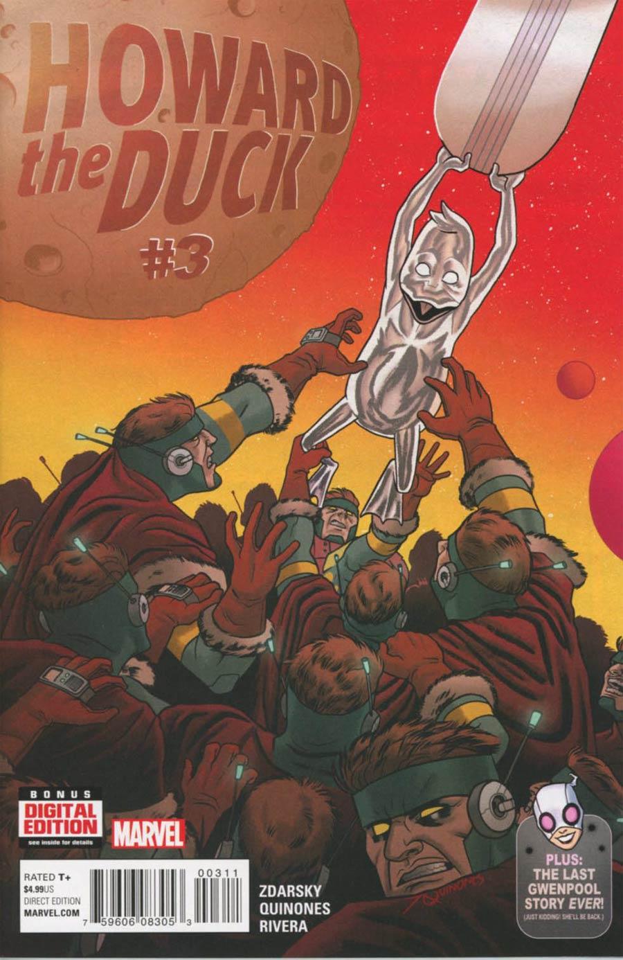 Howard The Duck Vol 5 #3 Cover A 1st Ptg Regular Joe Quinones Cover