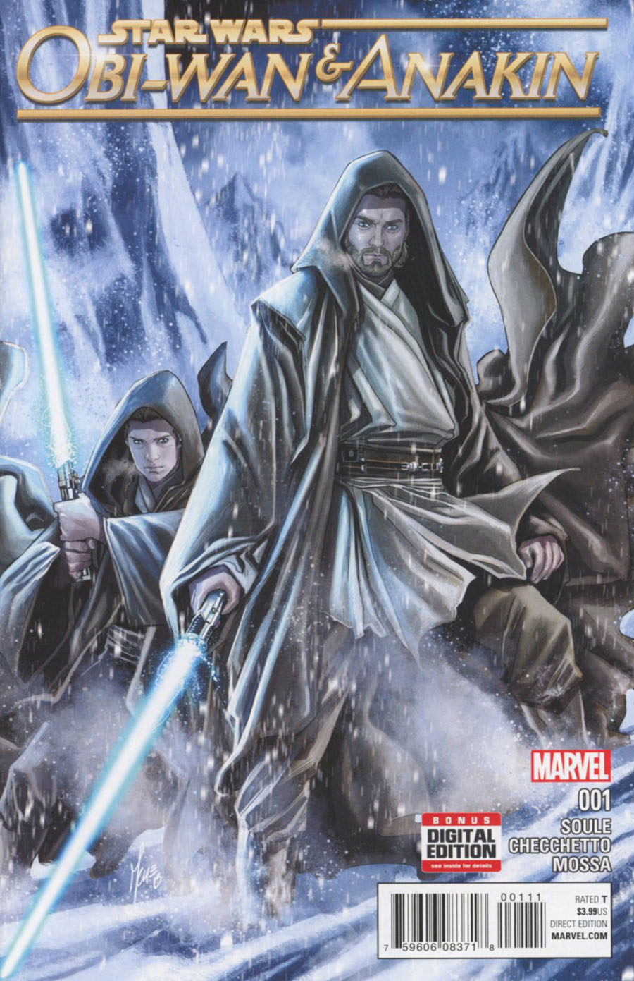 Obi-Wan And Anakin #1 Cover A 1st Ptg Regular Marco Checchetto Cover