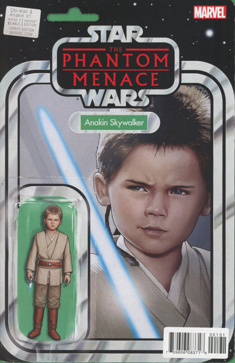 Obi-Wan And Anakin #1 Cover C Variant John Tyler Christopher Action Figure Cover