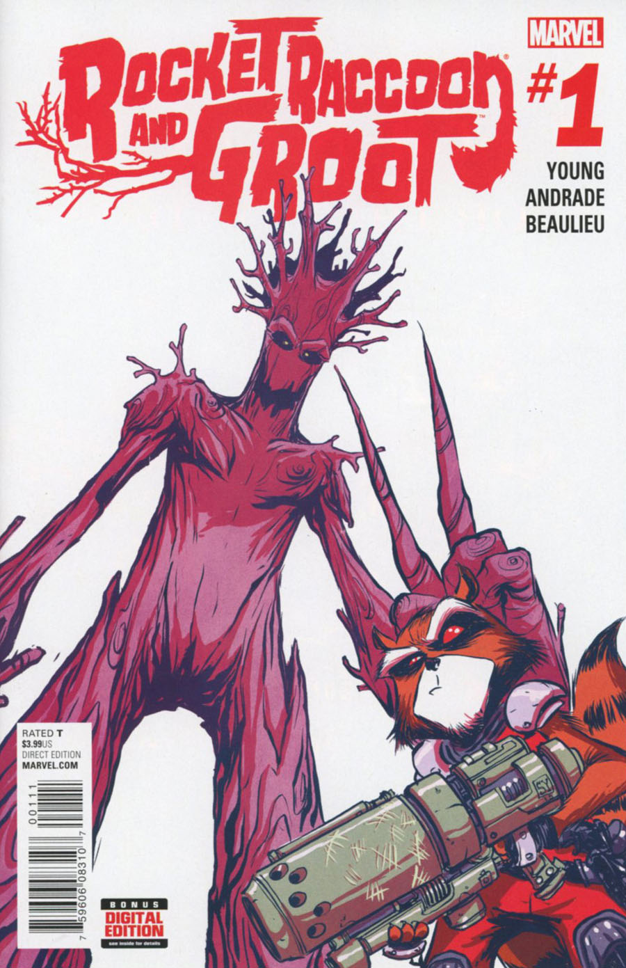 Rocket Raccoon And Groot #1 Cover A 1st Ptg Regular Skottie Young Cover