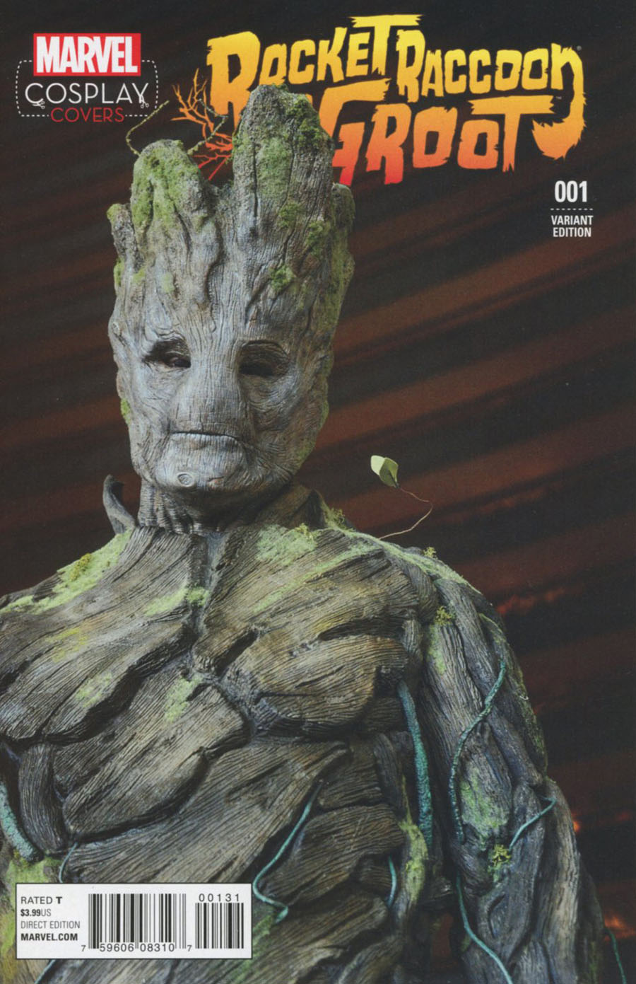 Rocket Raccoon And Groot #1 Cover E Incentive Cosplay Variant Cover