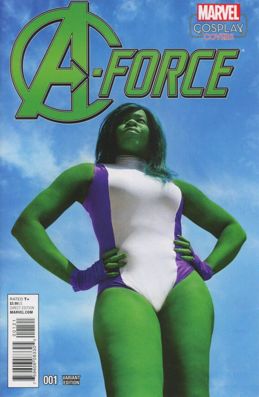 A-Force Vol 2 #1 Cover C Incentive Cosplay Variant Cover