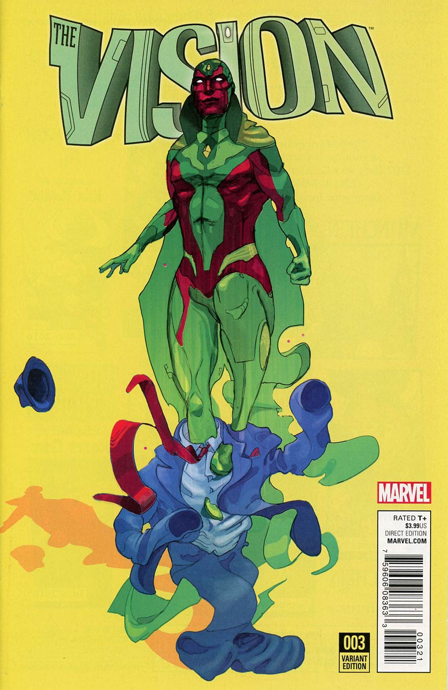 Vision Vol 2 #3 Cover B Incentive Christian Ward Variant Cover