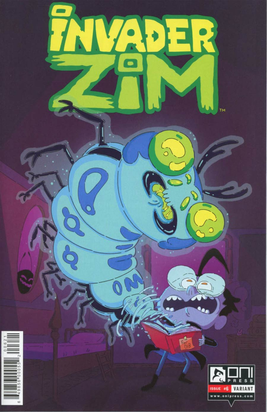 Invader Zim #6 Cover B Variant KC Green Cover