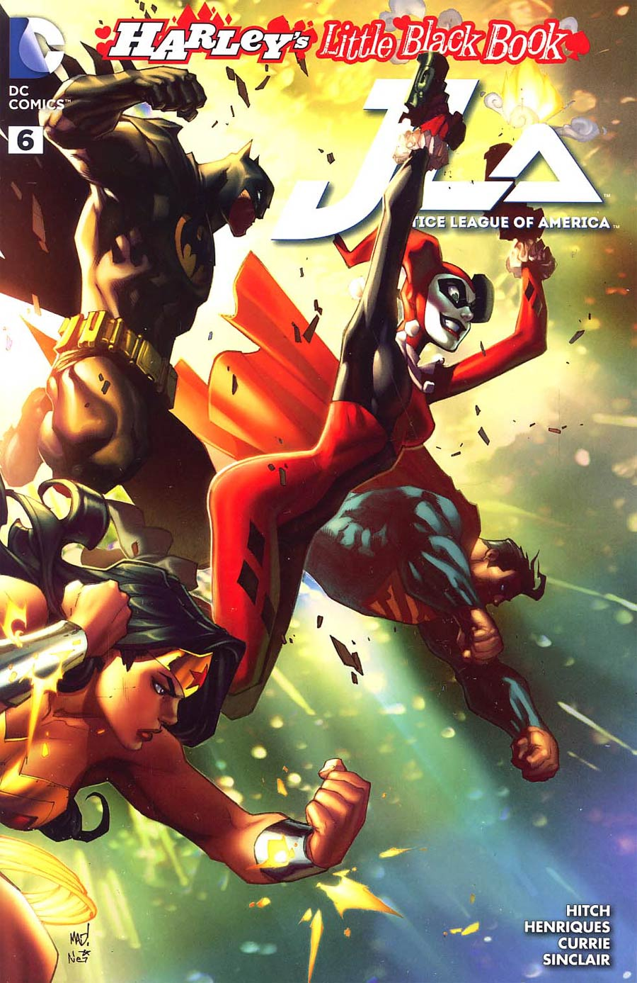 Justice League Of America Vol 4 #6 Cover C Variant Joe Madureira Harley Quinn Cover Without Polybag Color