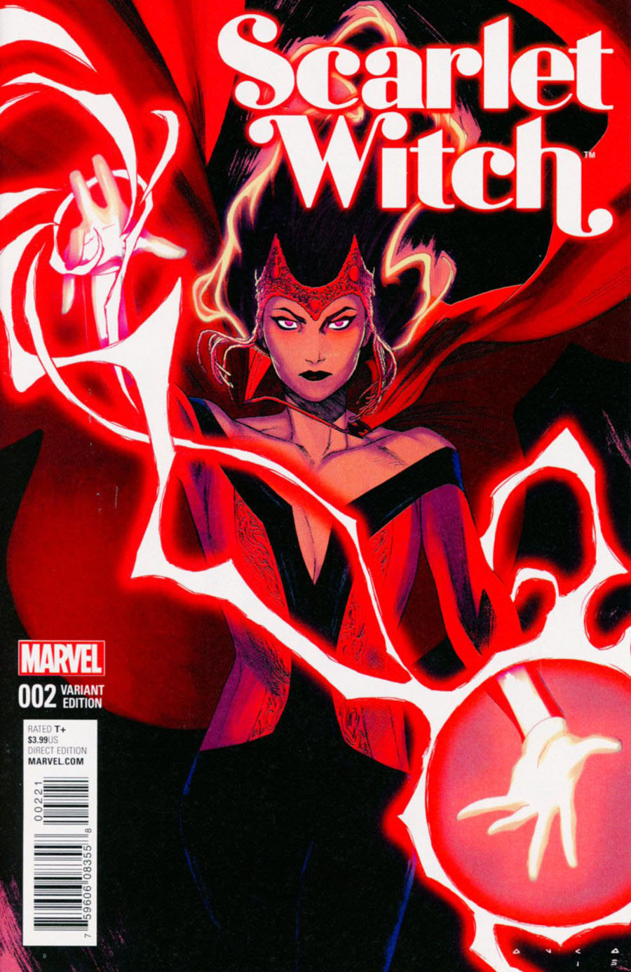 Scarlet Witch Vol 2 #2 Cover B Incentive Kris Anka Variant Cover