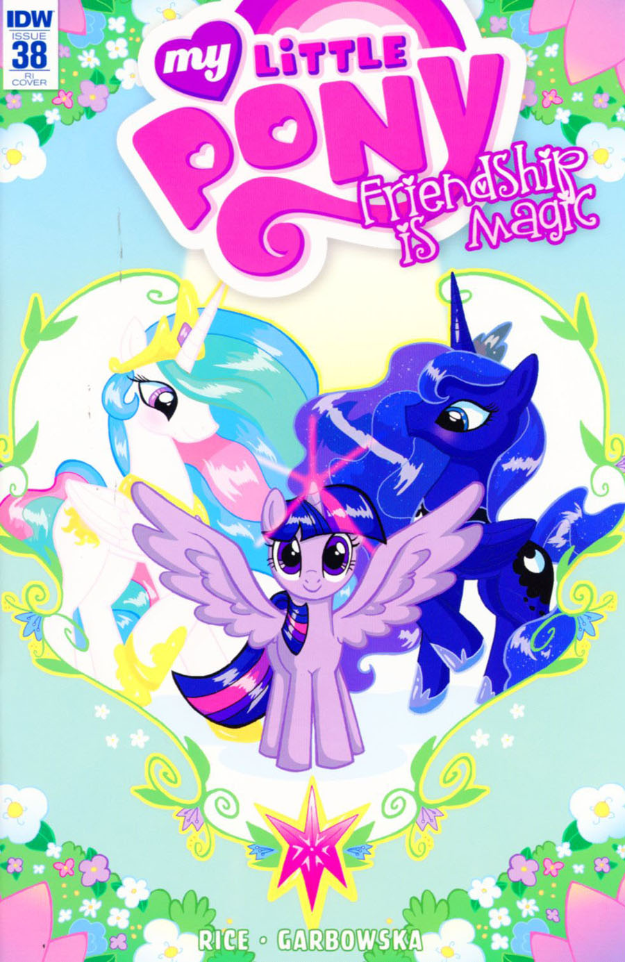 My Little Pony Friendship Is Magic #38 Cover C Incentive Mary Bellamy Variant Cover
