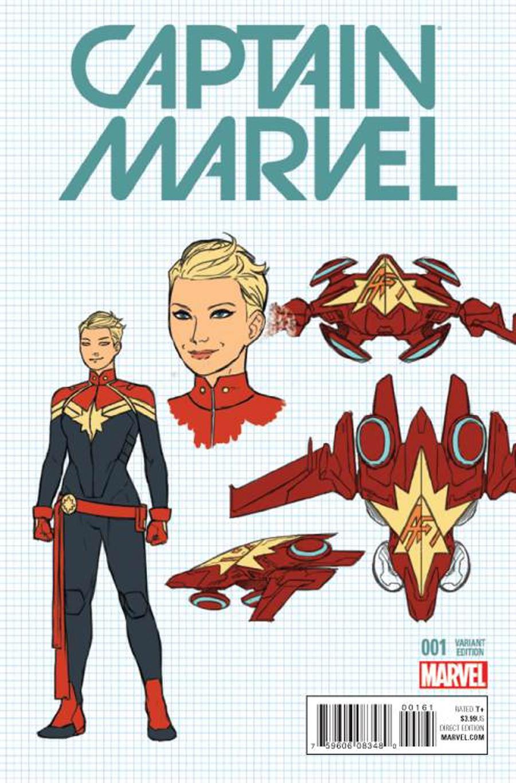 Captain Marvel Vol 8 #1 Cover F Incentive Kris Anka Design Variant Cover