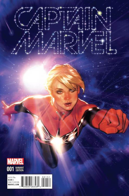 Captain Marvel Vol 8 #1 Cover G Incentive Adam Hughes Variant Cover