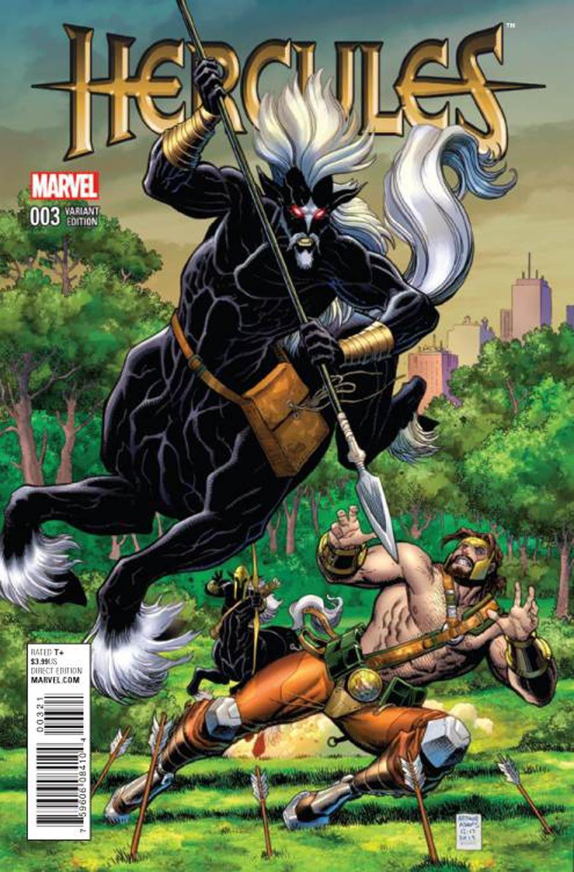 Hercules Vol 4 #3 Cover B Incentive Arthur Adams Variant Cover