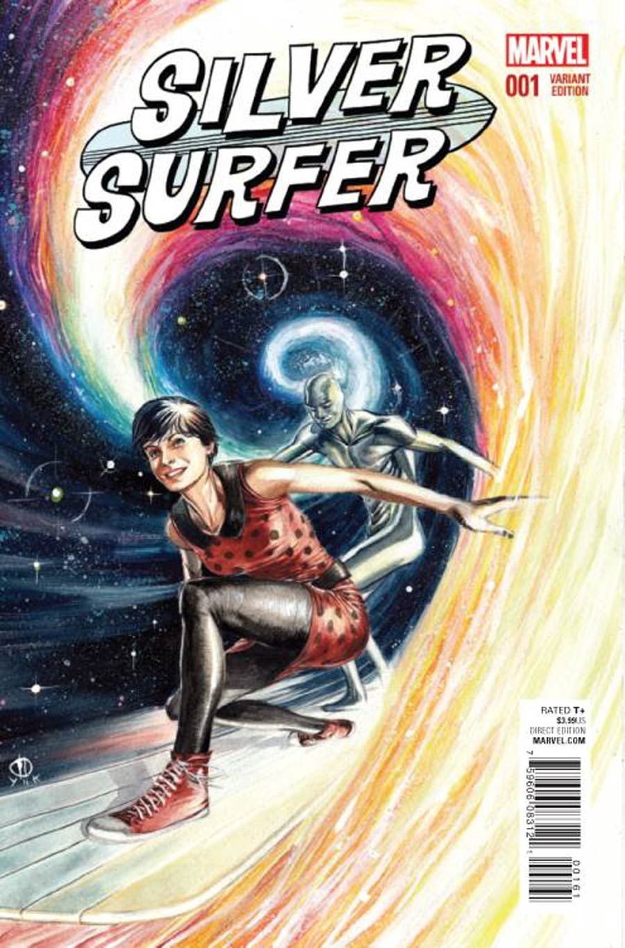 Silver Surfer Vol 7 #1 Cover E Incentive Marco Rudy Variant Cover
