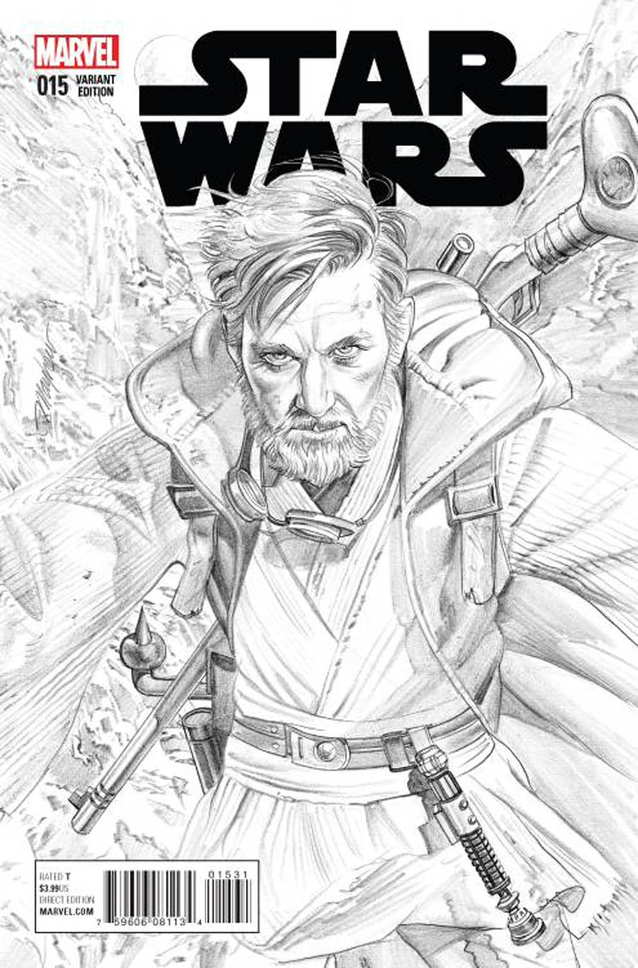 Star Wars Vol 4 #15 Cover C Incentive Mike Mayhew Sketch Cover