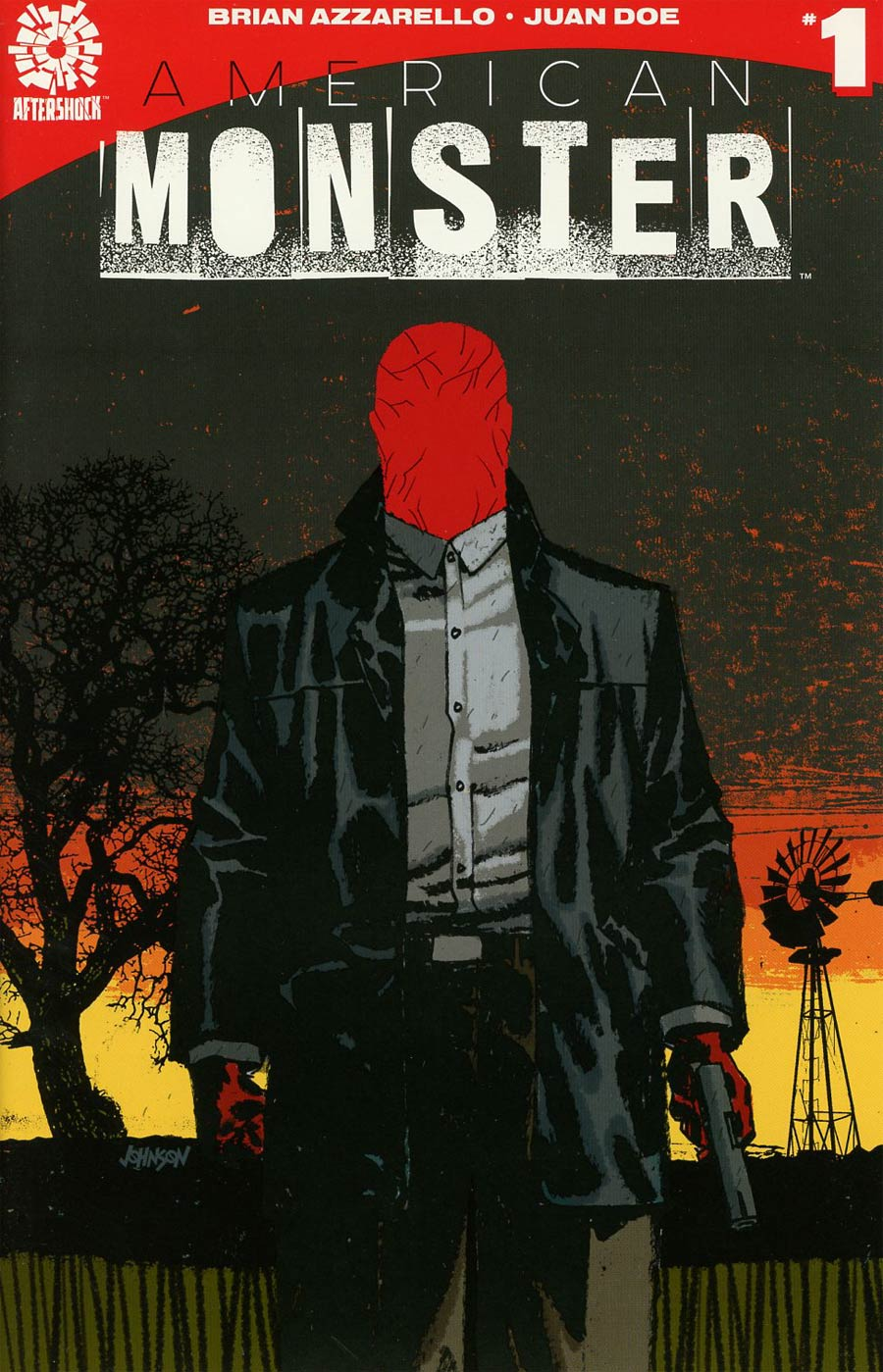 American Monster #1 Cover B Incentive Dave Johnson Variant Cover