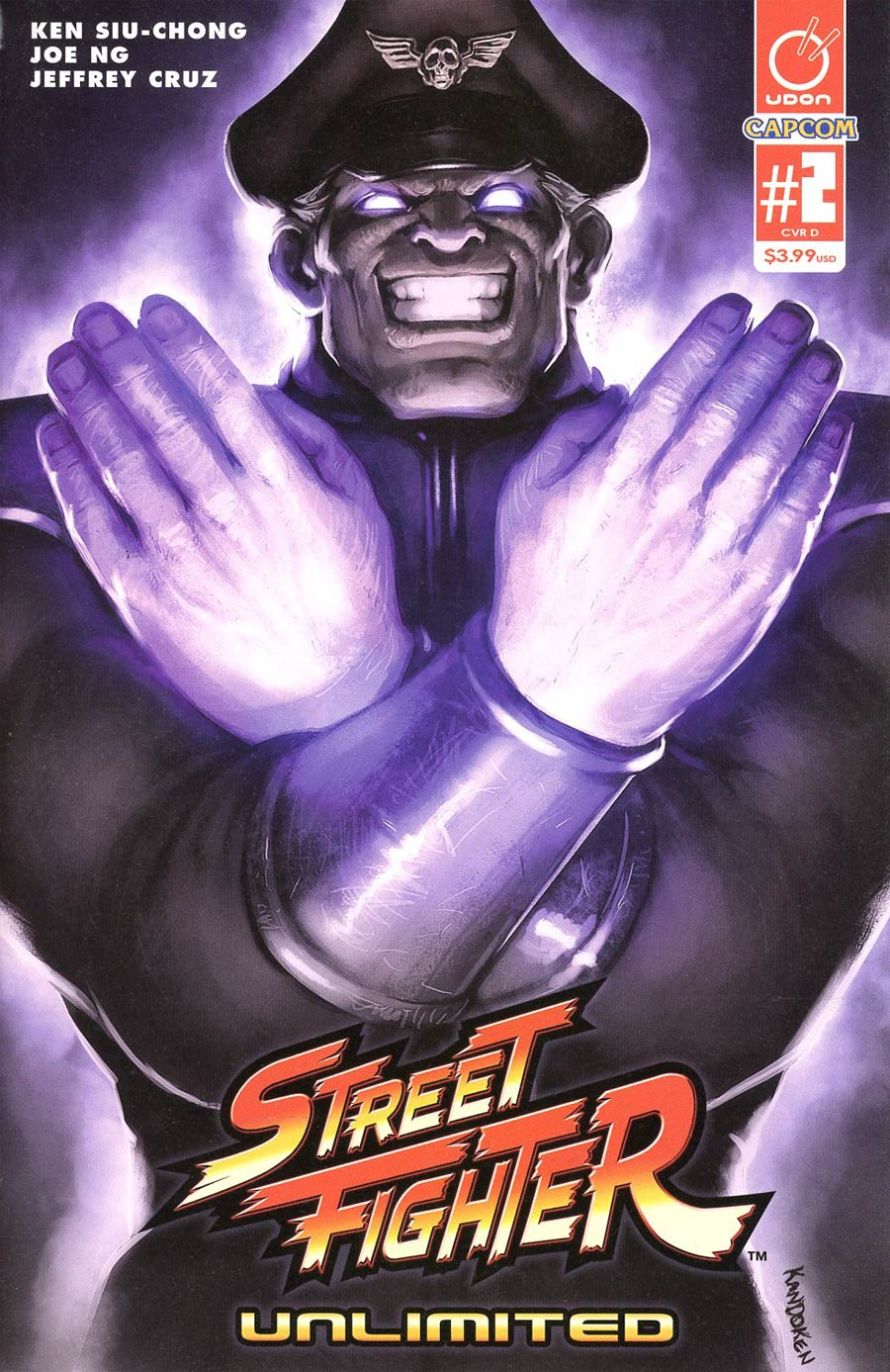 Street Fighter Unlimited #2 Cover D Incentive Kandoken Street Fighter V Game Variant Cover