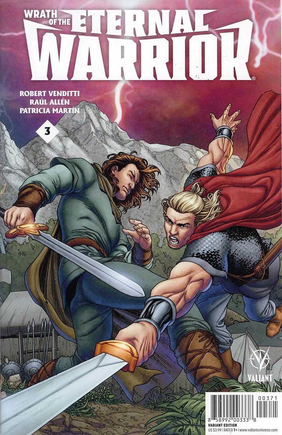 Wrath Of The Eternal Warrior #3 Cover G Midtown Comics Retailer Shared Exclusive Variant Cover