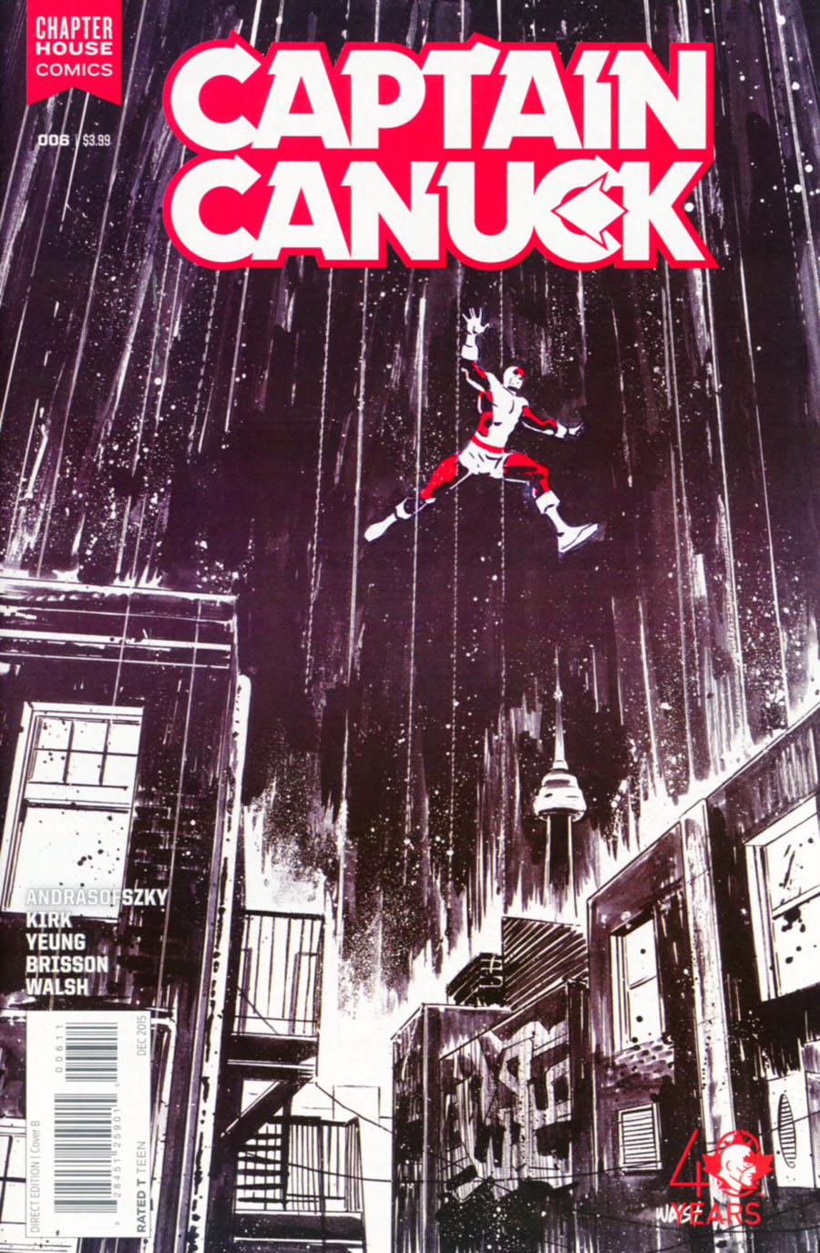 Captain Canuck Vol 2 #6 Cover B Regular Michael Walsh Cover