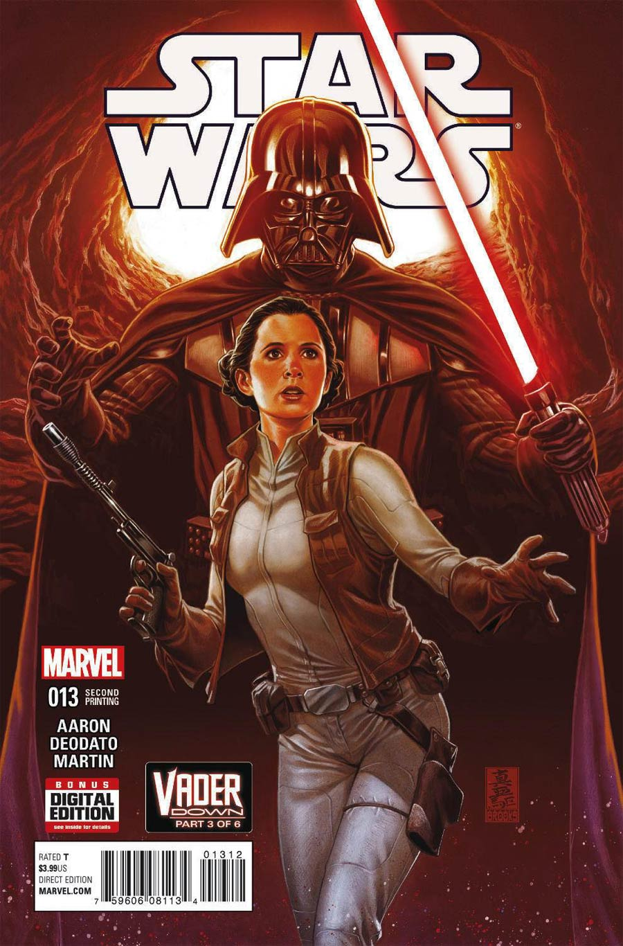 Star Wars Vol 4 #13 Cover D 2nd Ptg Mark Brooks Variant Cover