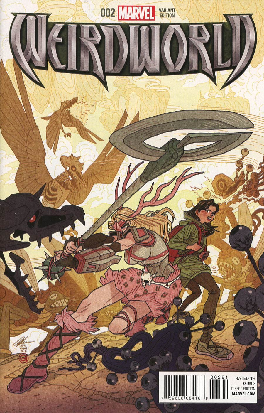 Weirdworld Vol 2 #2 Cover B Incentive Afu Chan Variant Cover