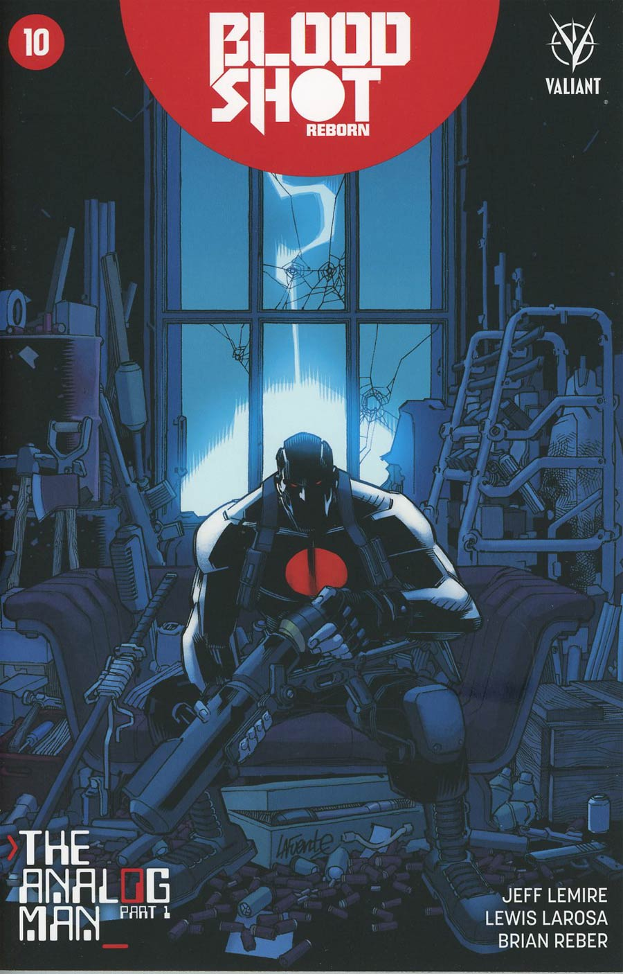 Bloodshot Reborn #10 Cover F Incentive David LaFuente Variant Cover