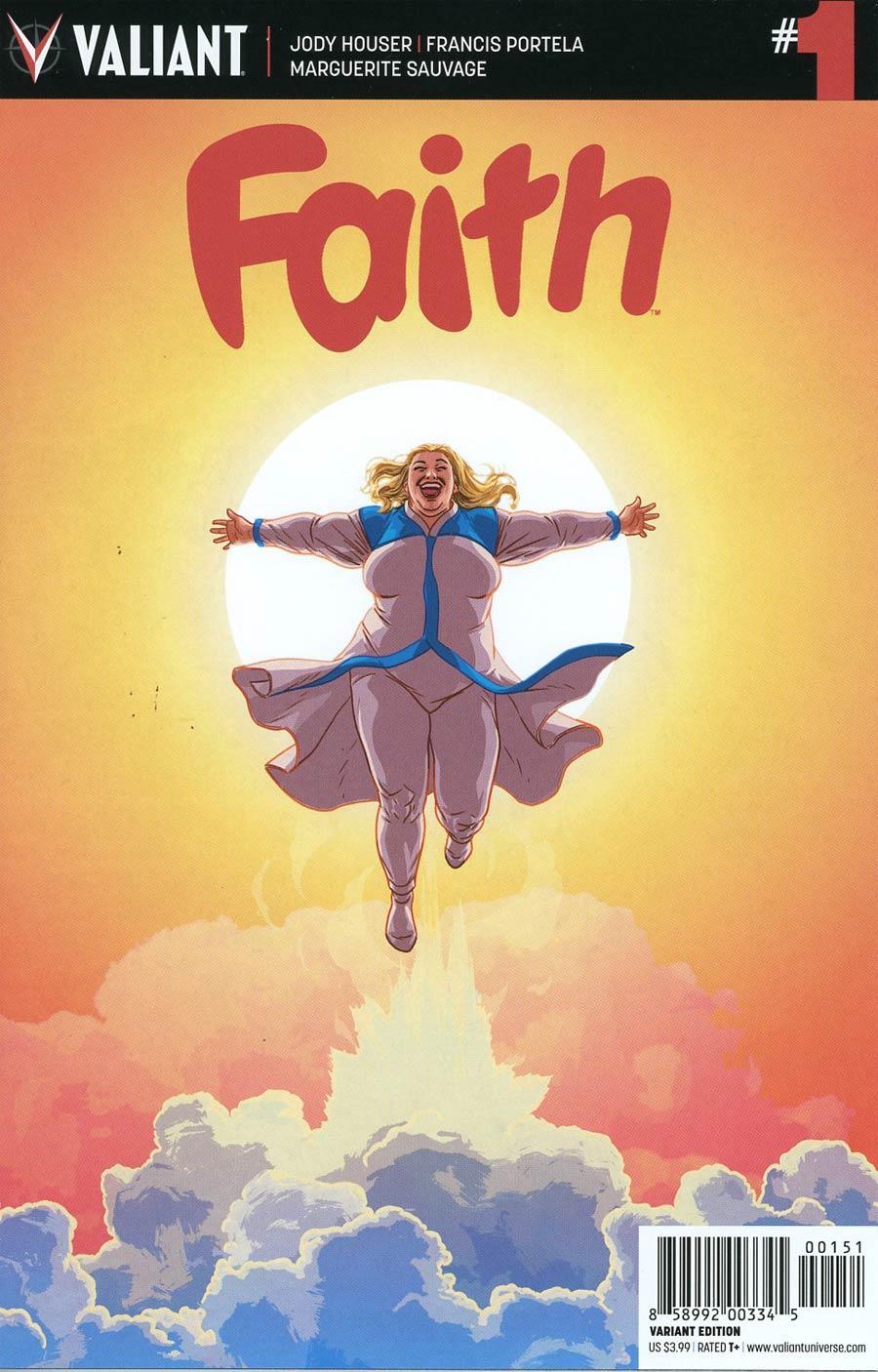 Faith (Valiant Entertainment) #1 Cover E Incentive Kano Variant Cover