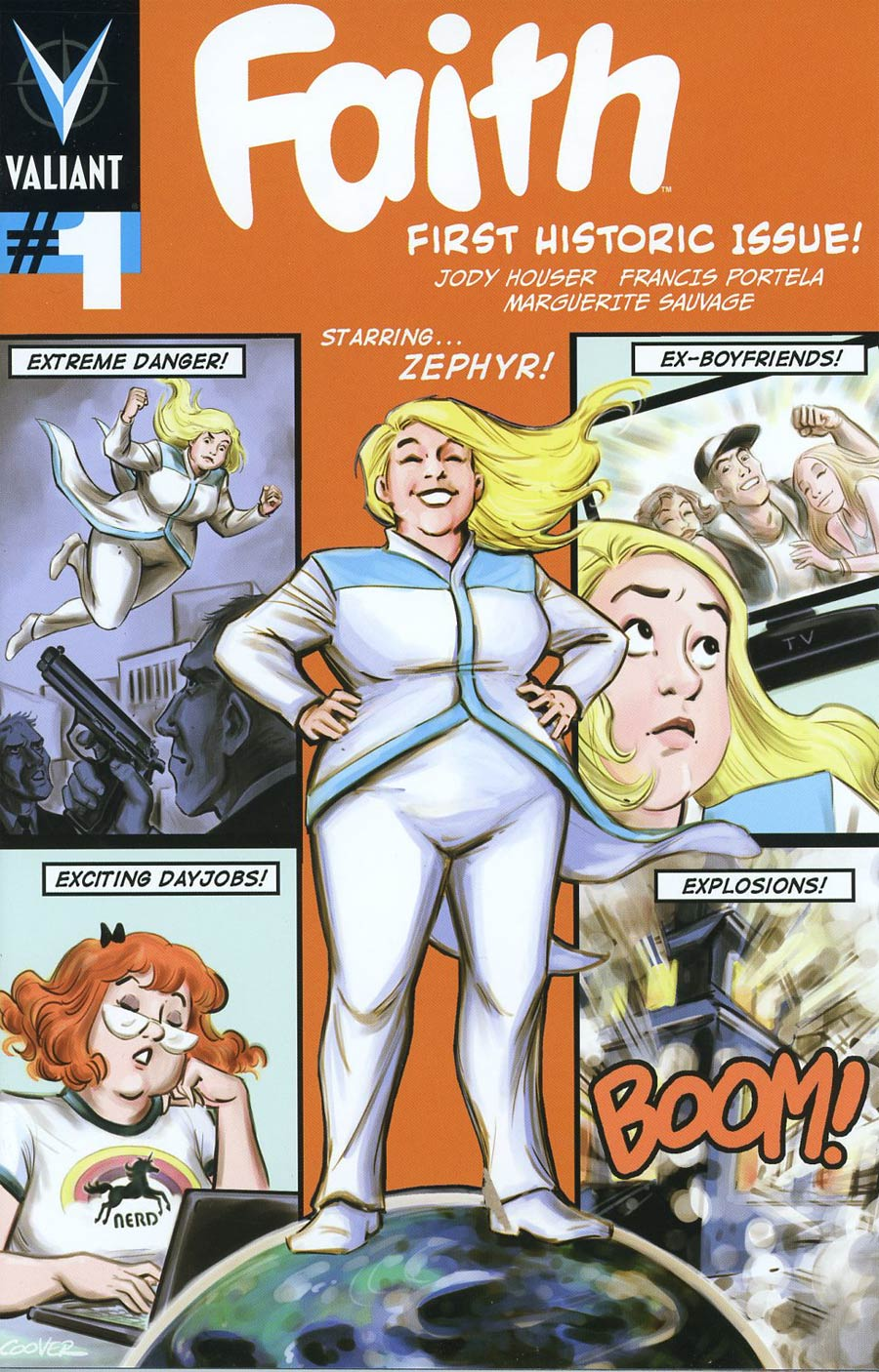 Faith (Valiant Entertainment) #1 Cover F Incentive Colleen Coover Variant Cover