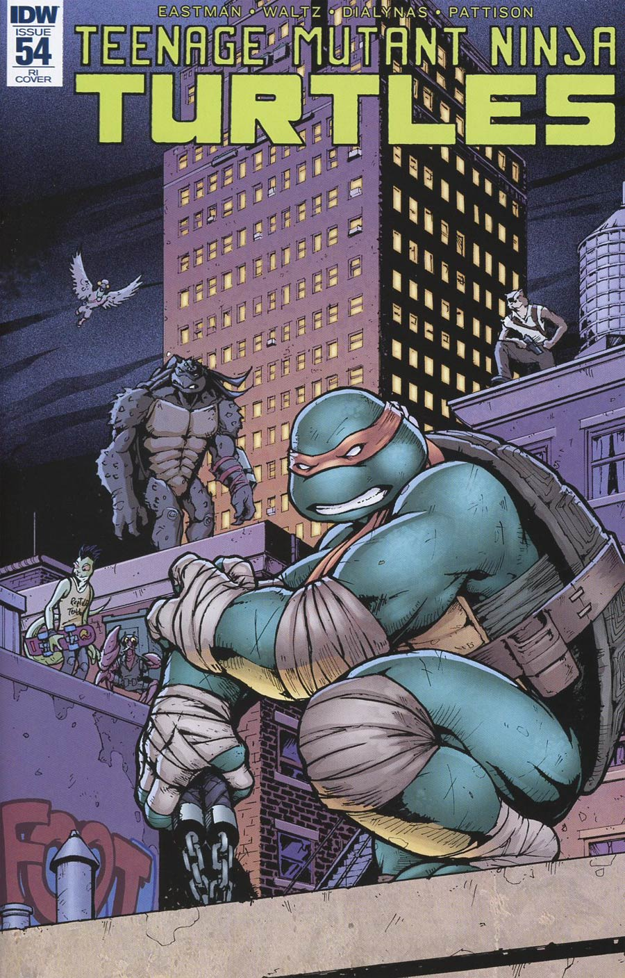 Teenage Mutant Ninja Turtles Vol 5 #54 Cover C Incentive Andrew Griffith Variant Cover