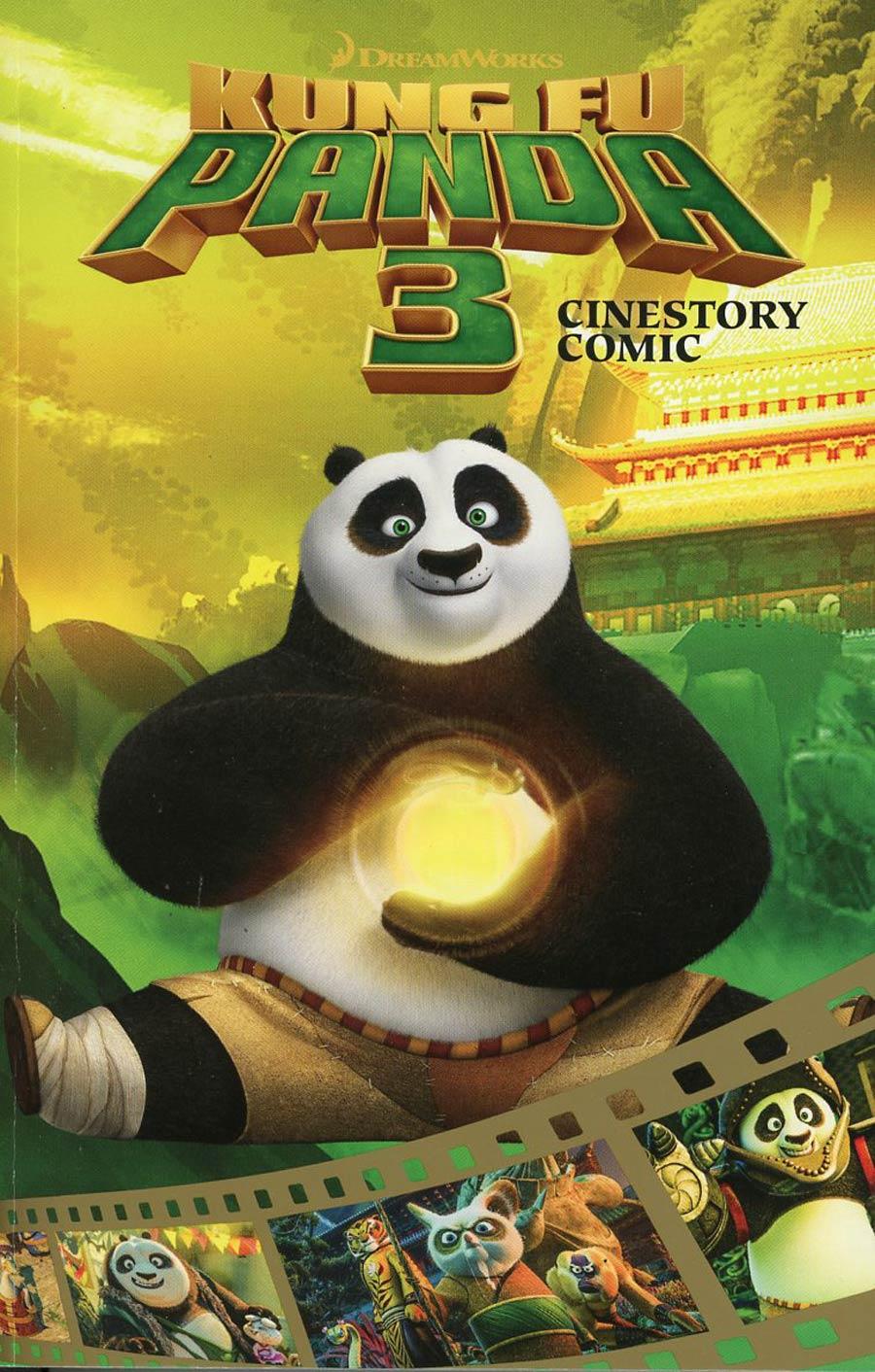 Kung Fu Panda 3 Cinestory Comic TP
