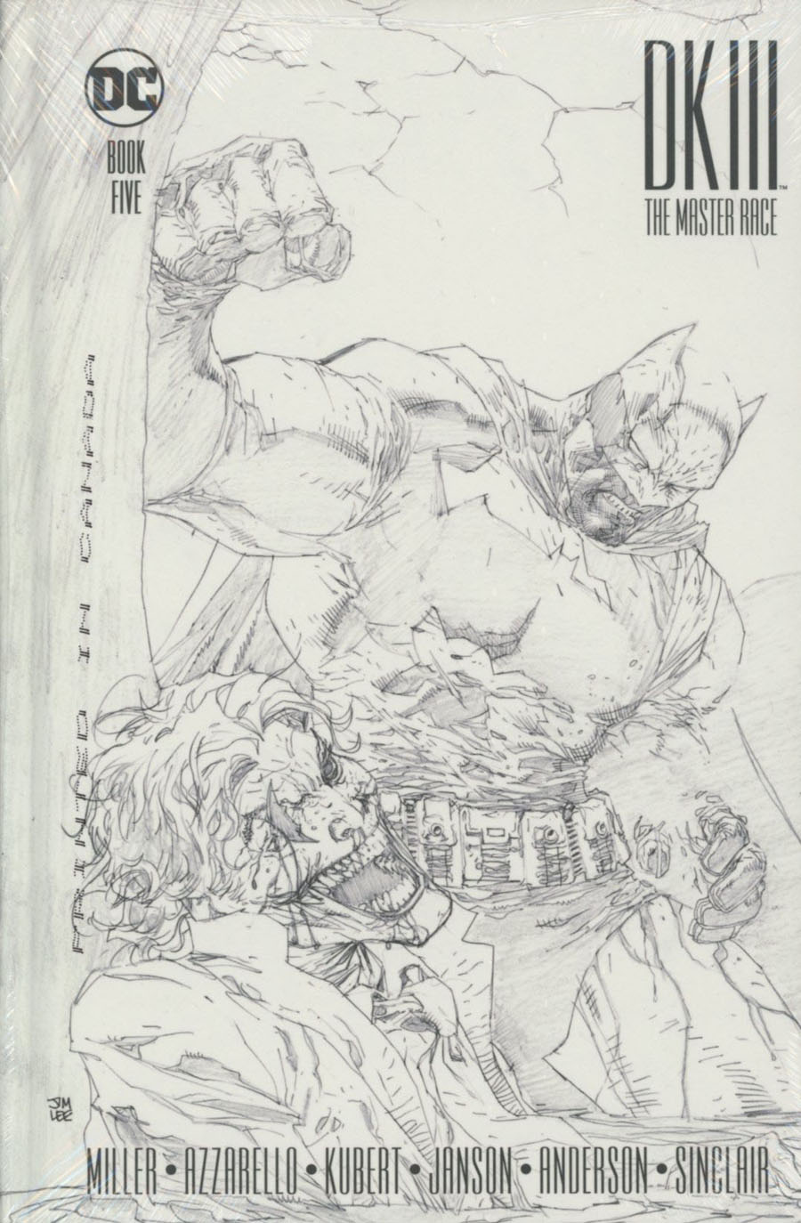 Dark Knight III The Master Race #5 Cover D Collectors Edition HC