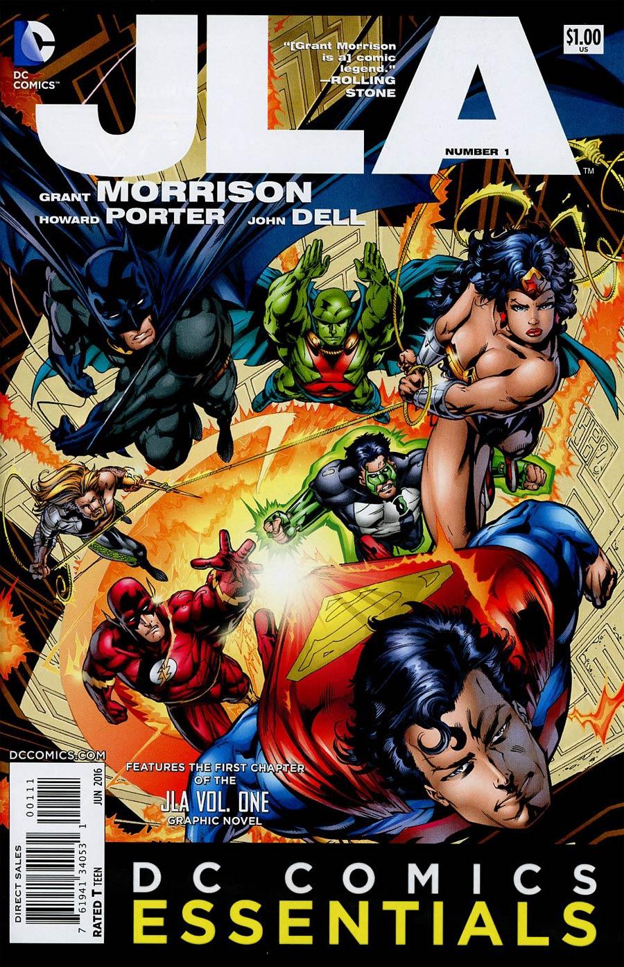DC Comics Essentials JLA #1