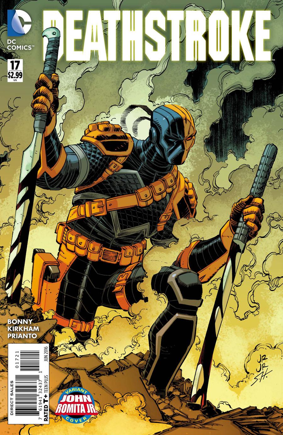 Deathstroke Vol 3 #17 Cover B Variant John Romita Jr Cover