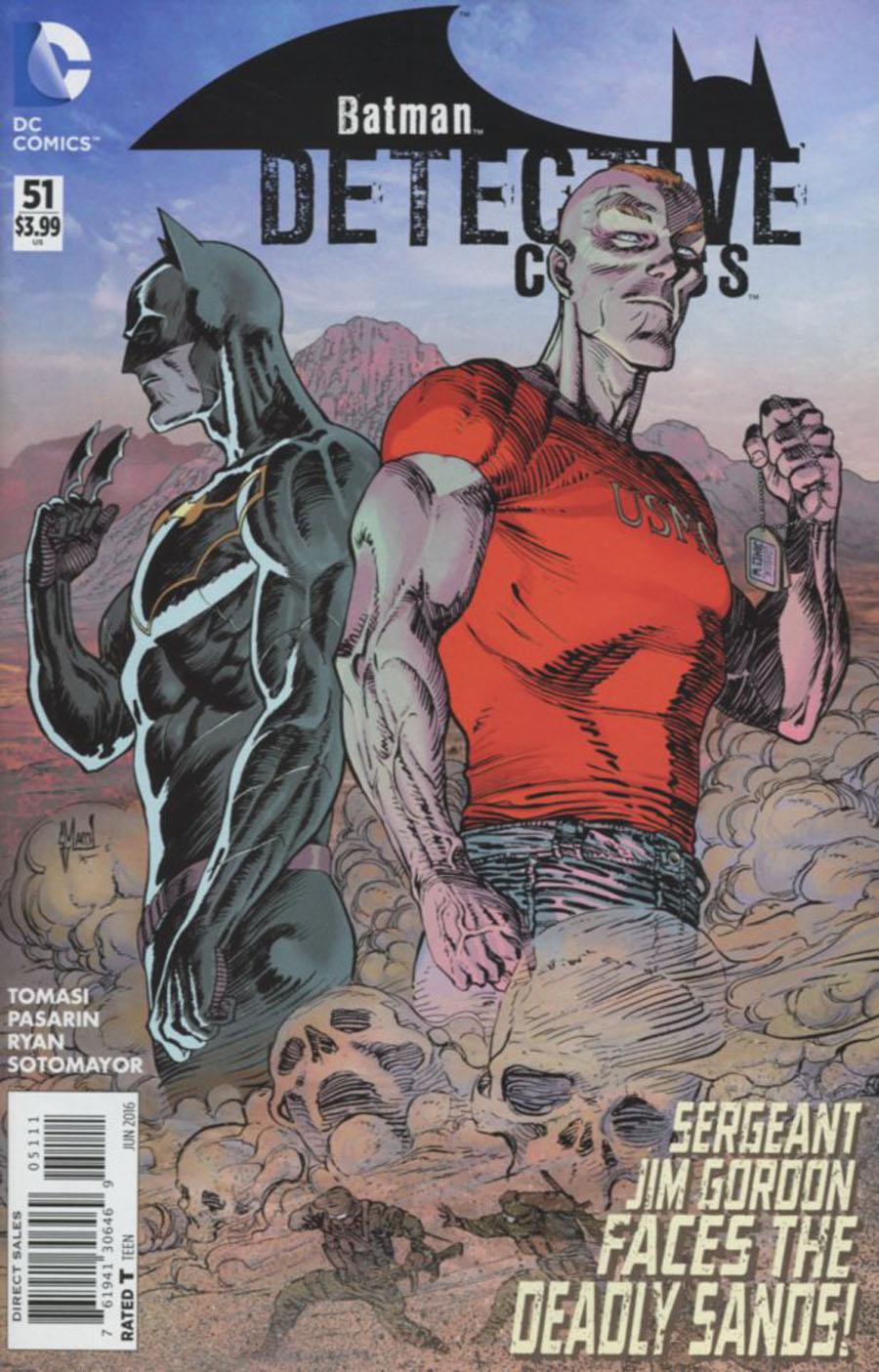 Detective Comics Vol 2 #51 Cover A Regular Guillem March Cover
