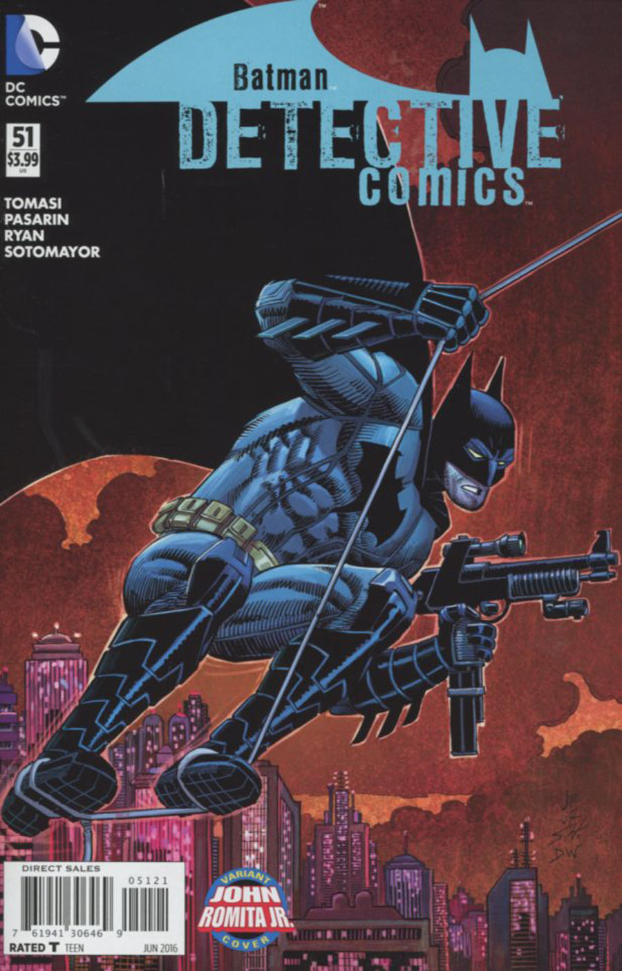 Detective Comics Vol 2 #51 Cover B Variant John Romita Jr Cover