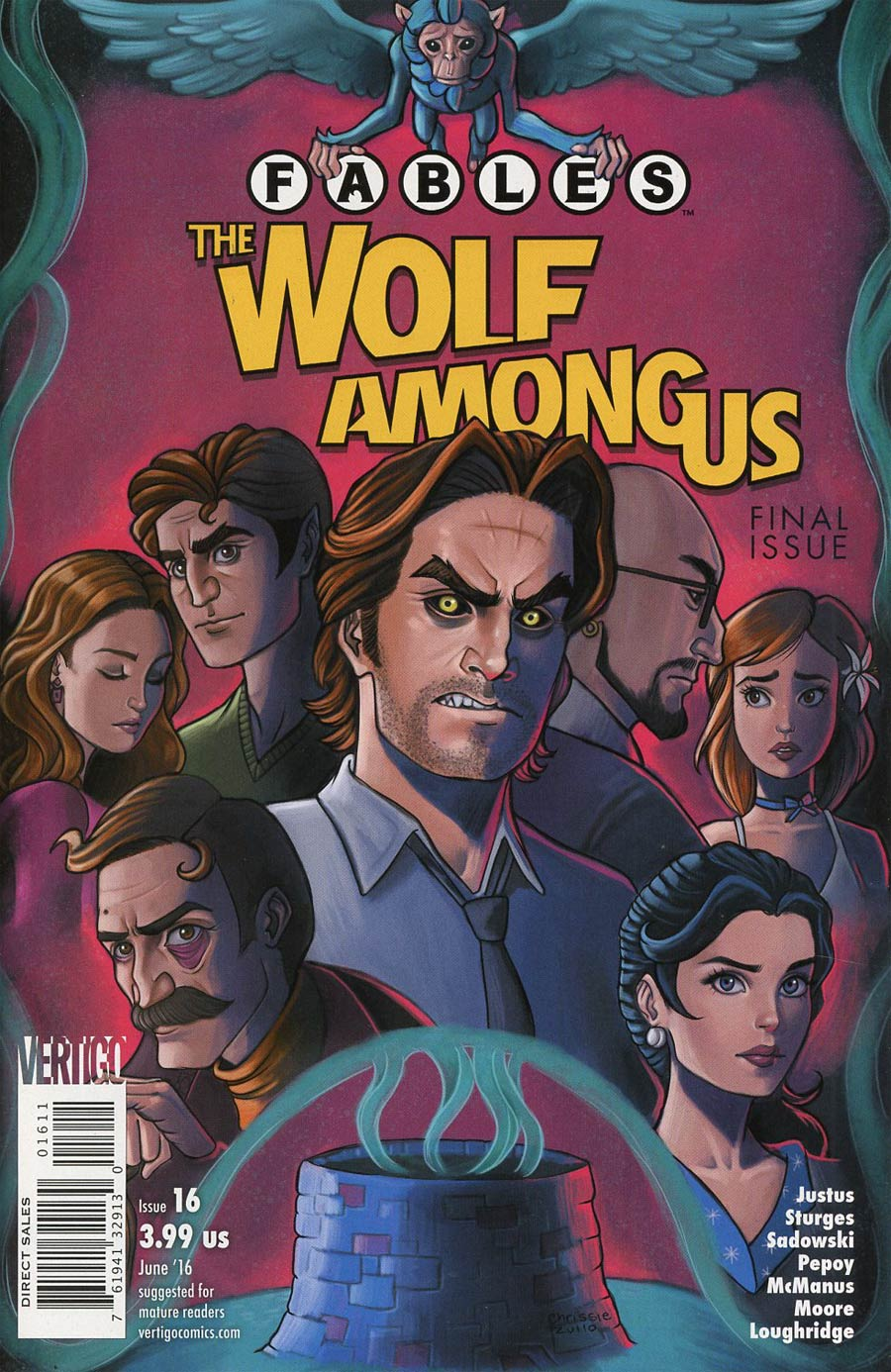 Fables The Wolf Among Us #16