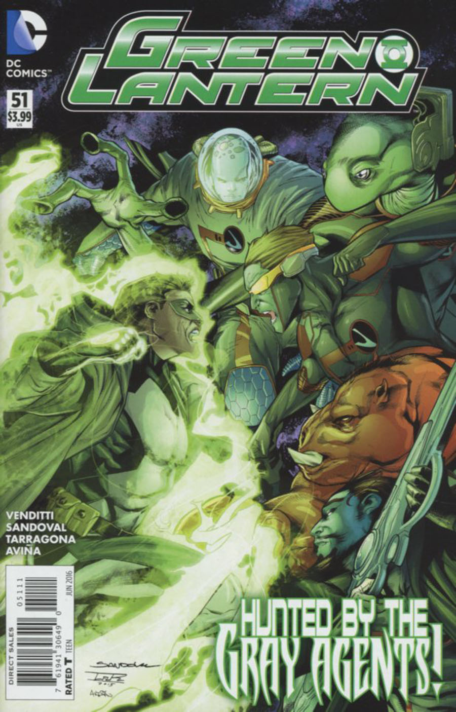 Green Lantern Vol 5 #51 Cover A Regular Rafa Sandoval Cover