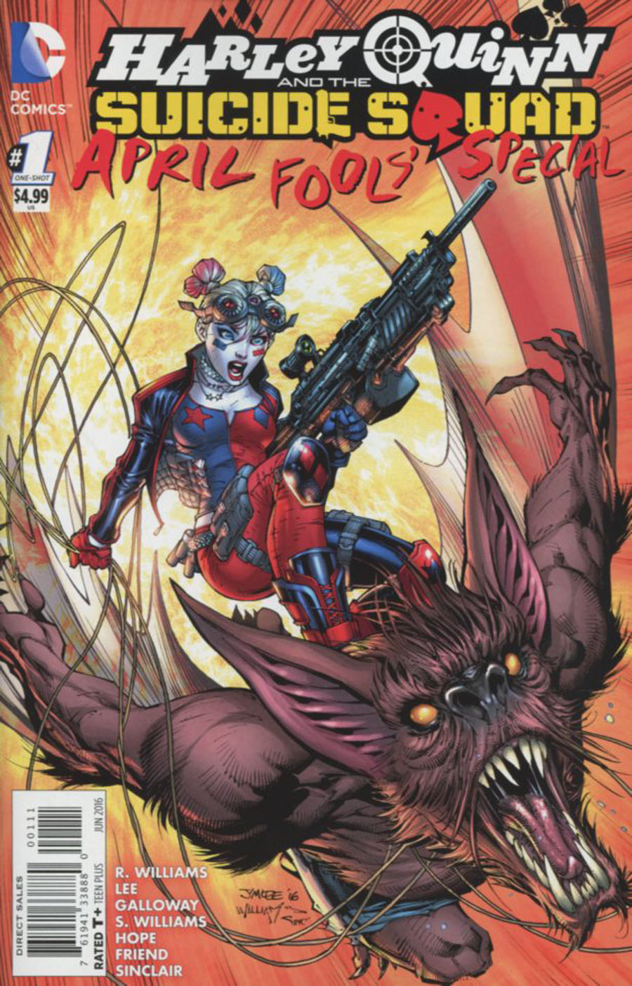 Harley Quinn And The Suicide Squad April Fools Special #1 Cover A Regular Jim Lee Cover