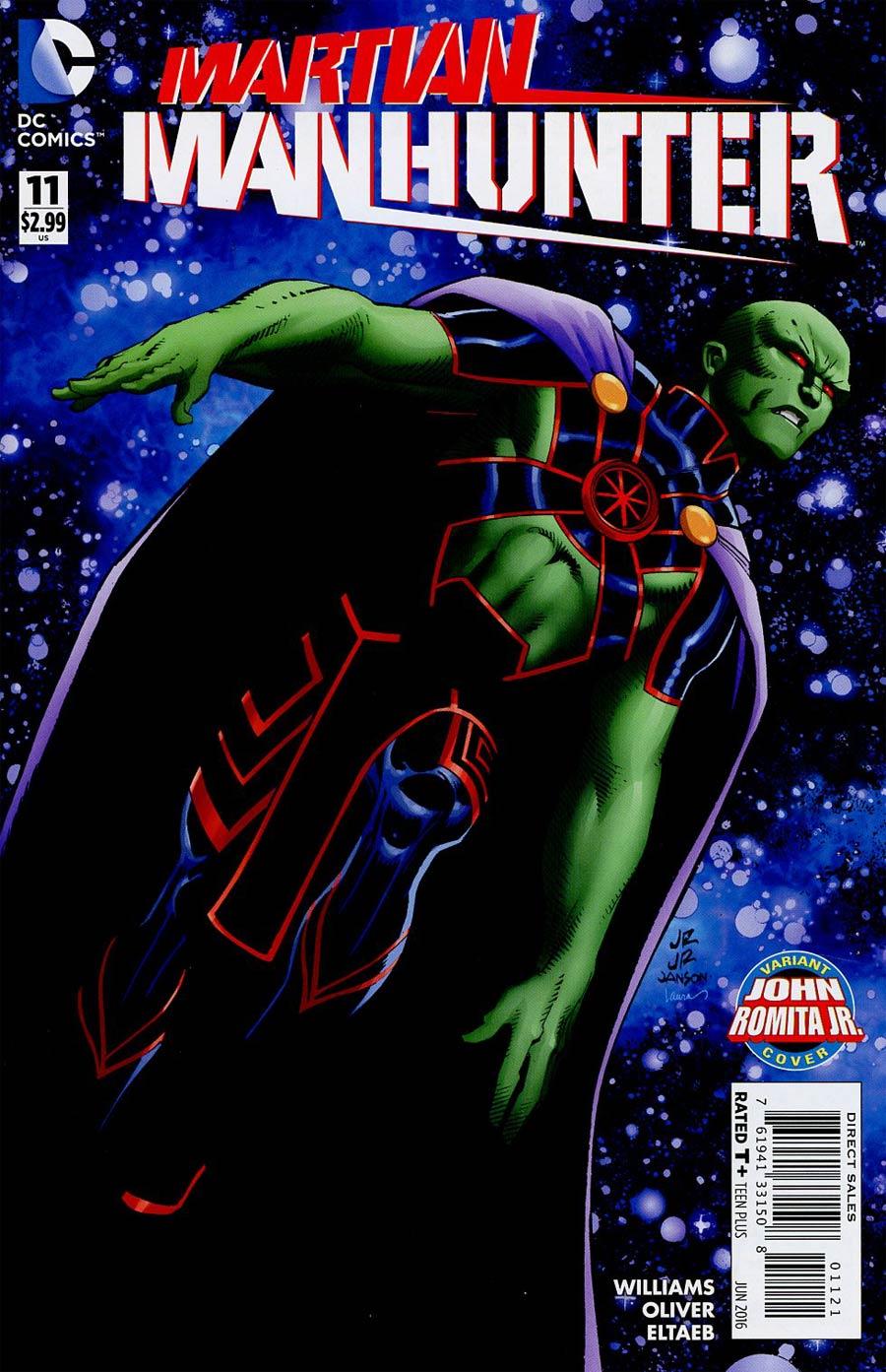 Martian Manhunter Vol 4 #11 Cover B Variant John Romita Jr Cover