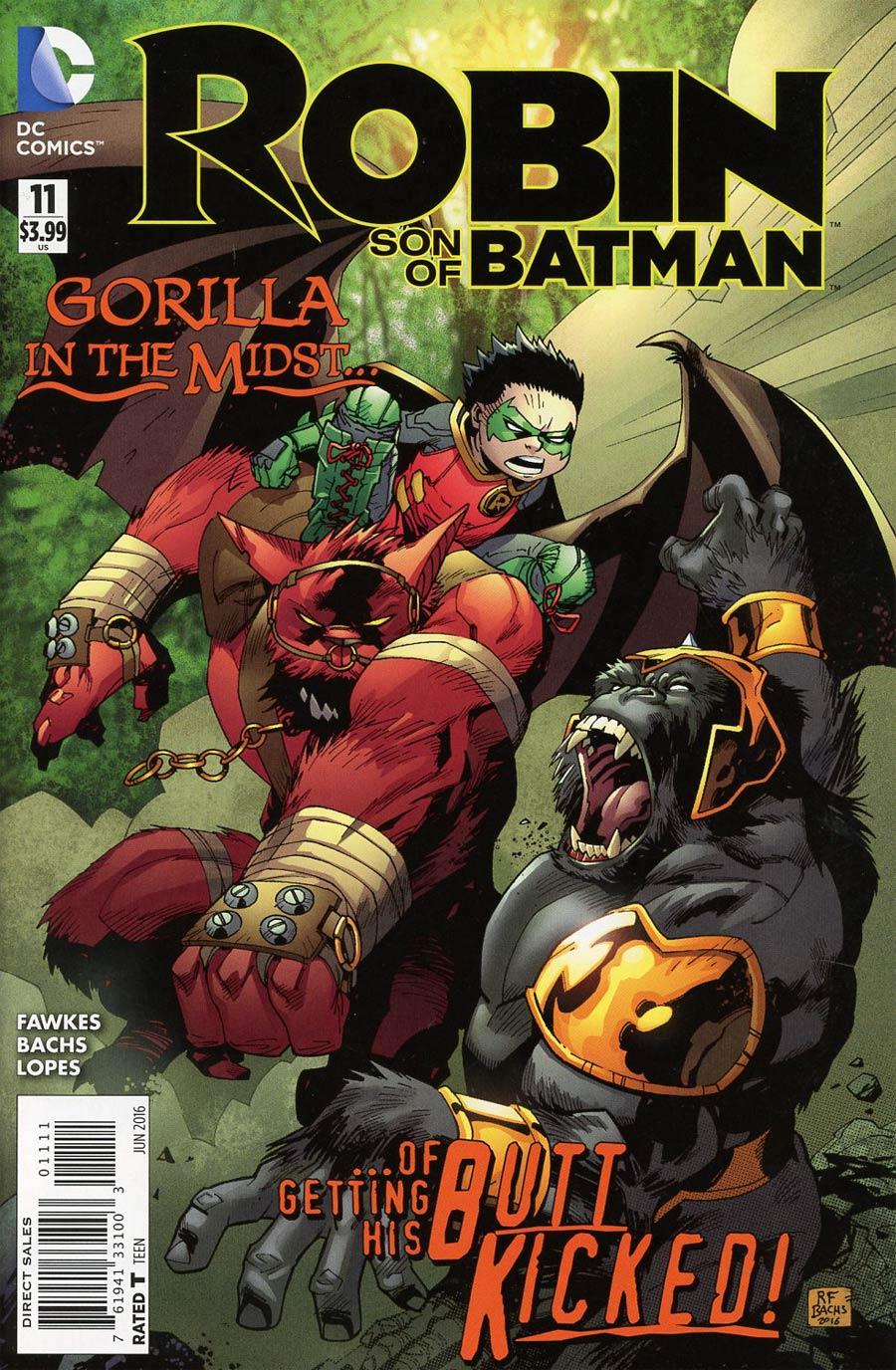 Robin Son Of Batman #11 Cover A Regular Patrick Gleason Cover
