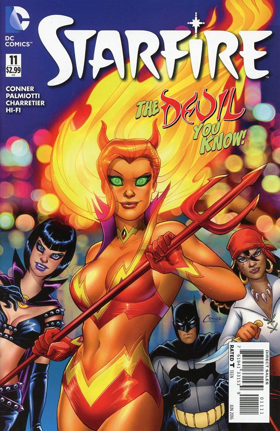 Starfire Vol 2 #11 Cover A Regular Amanda Conner Cover