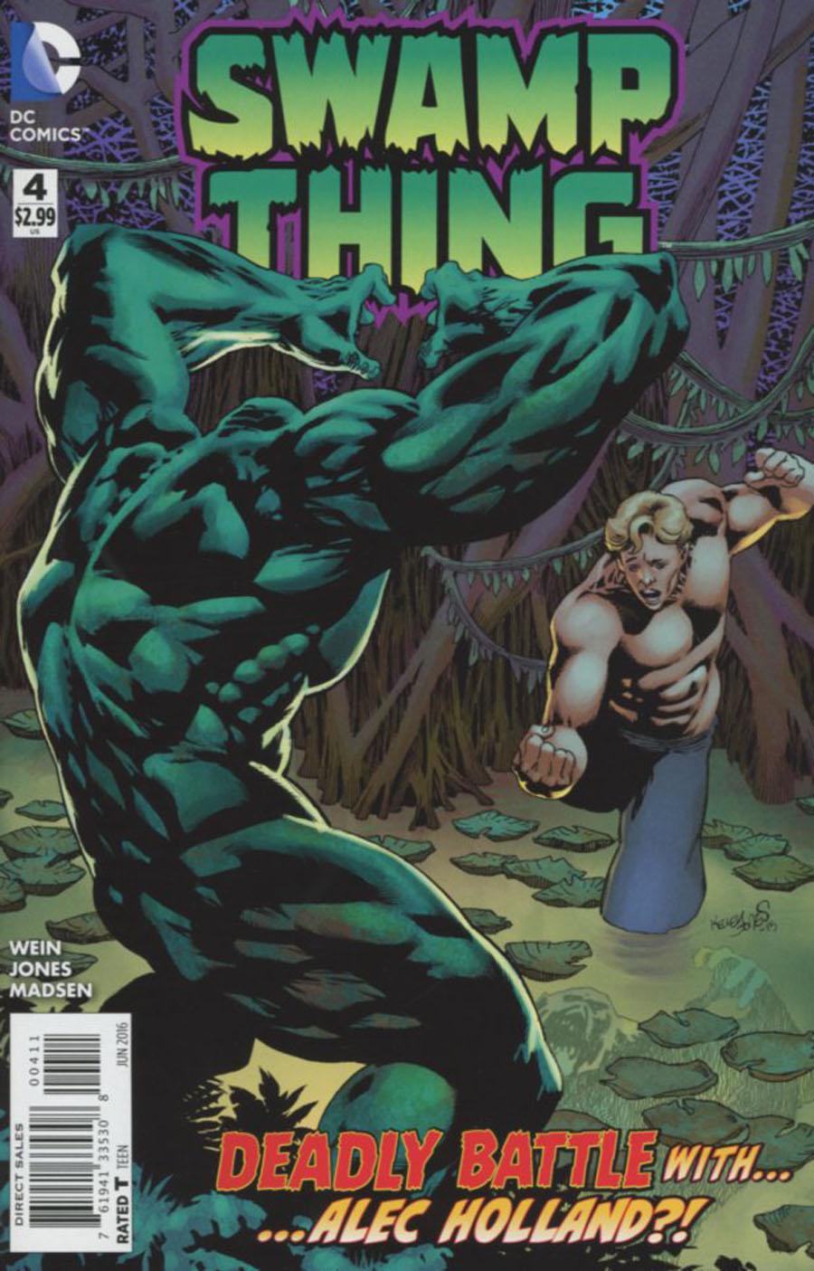 Swamp Thing Vol 6 #4