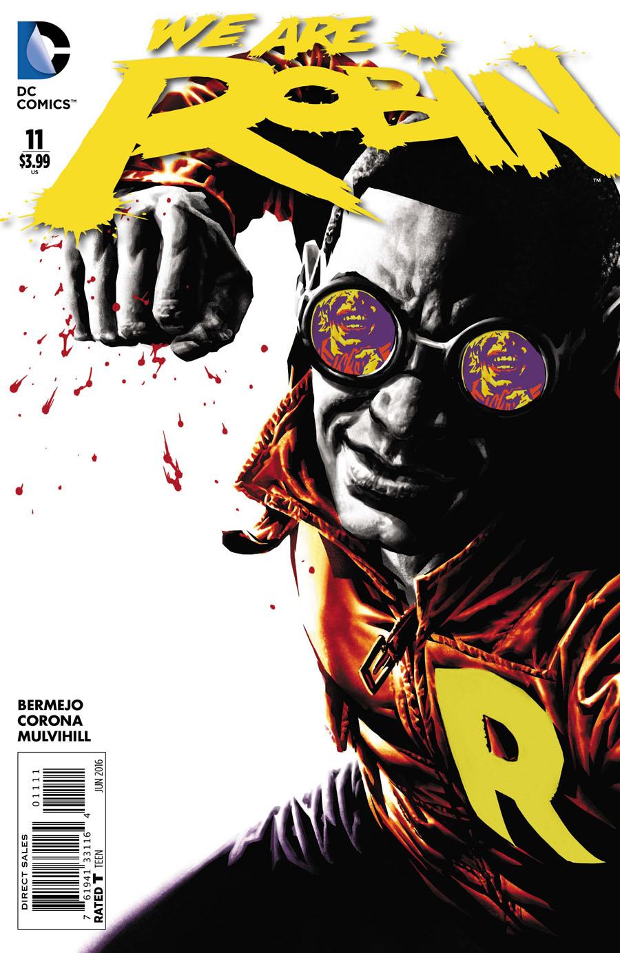 We Are Robin #11 Cover A Regular Lee Bermejo Cover