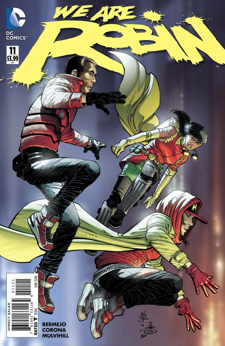 We Are Robin #11 Cover B Variant John Romita Jr Cover