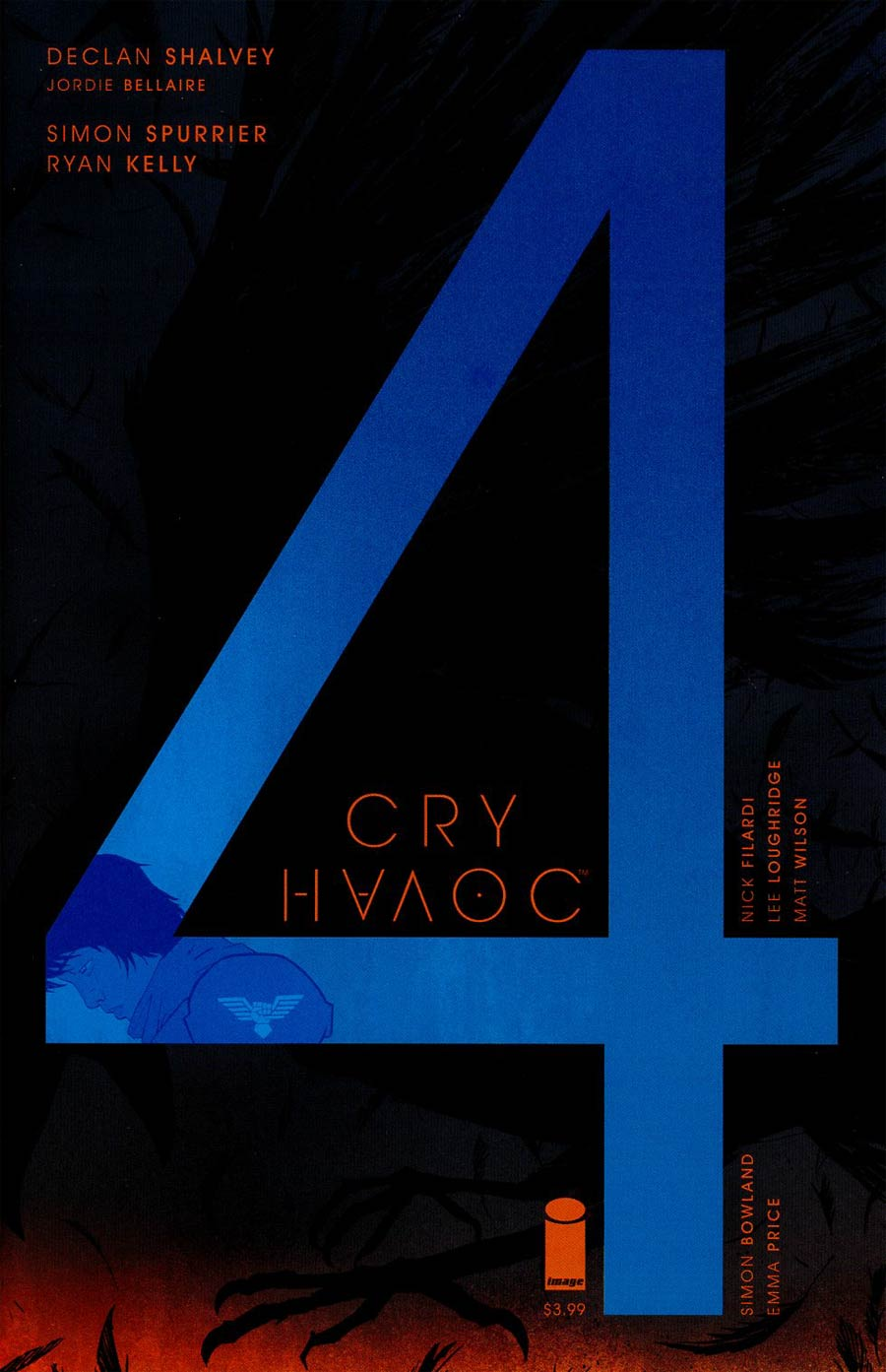 Cry Havoc #4 Cover B Declan Shalvey & Jordie Bellaire