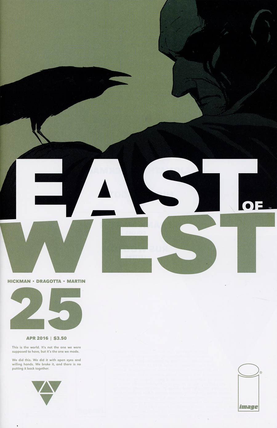 East Of West #25 Cover A Nick Dragotta