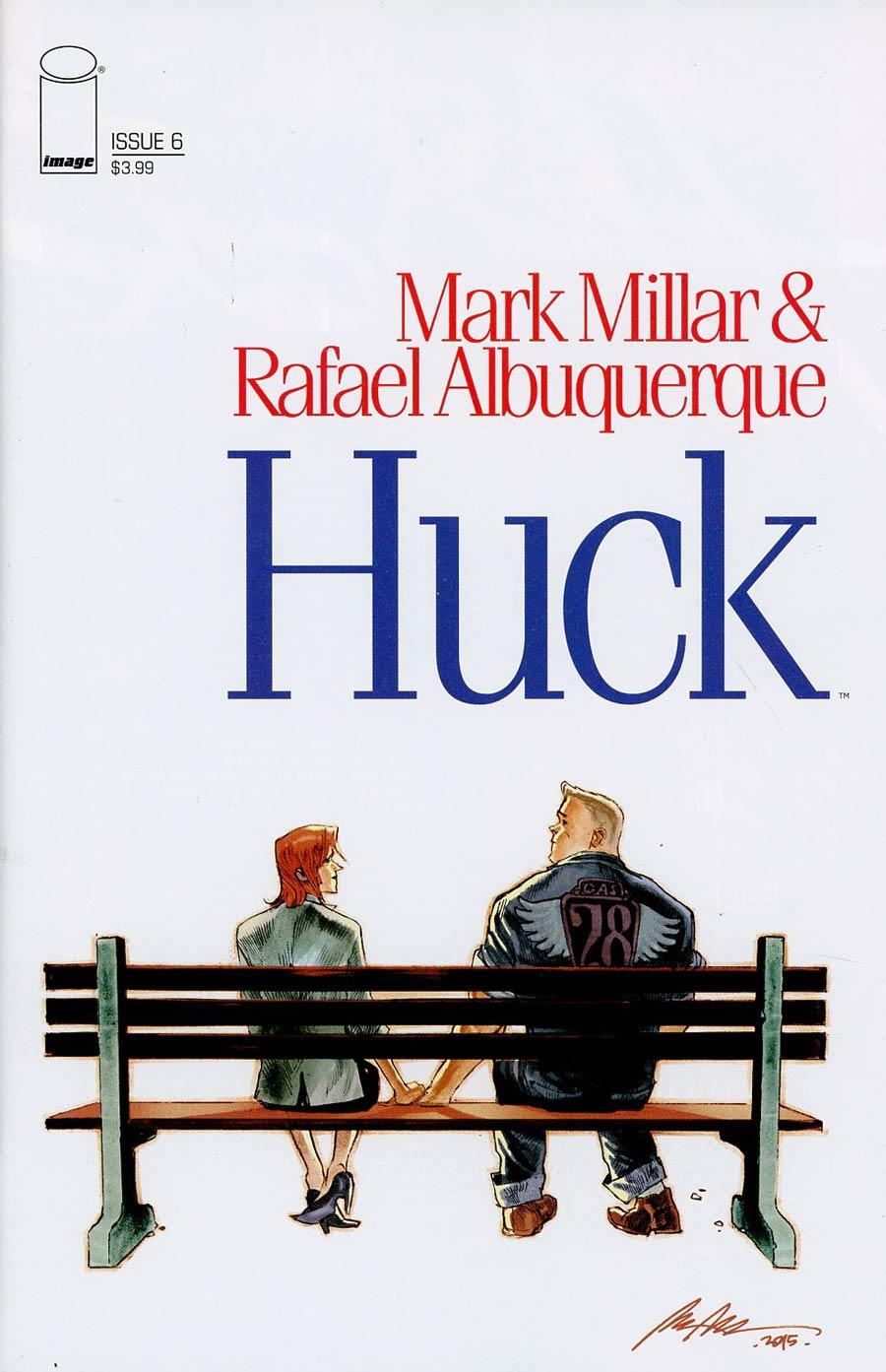 Huck #6 Cover B Variant Rafael Albuquerque Cover