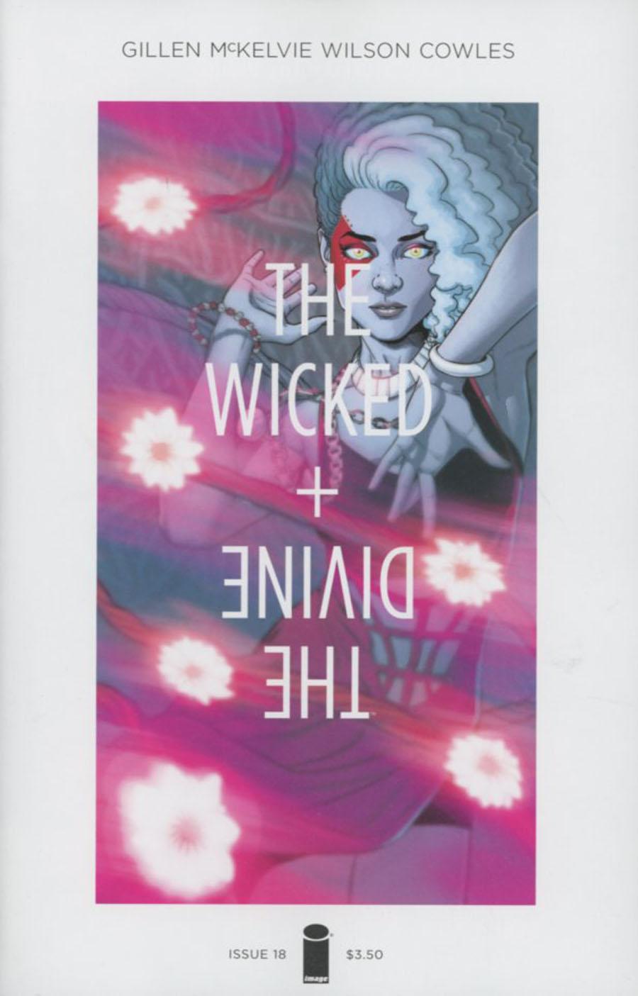 Wicked + The Divine #18 Cover A Regular Jamie McKelvie & Matt Wilson Cover