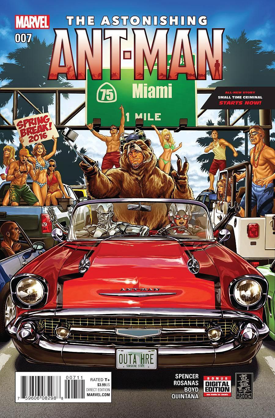 Astonishing Ant-Man #7 Cover A Regular Mark Brooks Cover