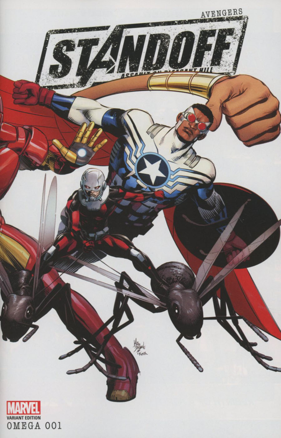 Avengers Standoff Assault On Pleasant Hill Omega #1 Cover C Variant Mike Deodato Jr Wraparound Cover
