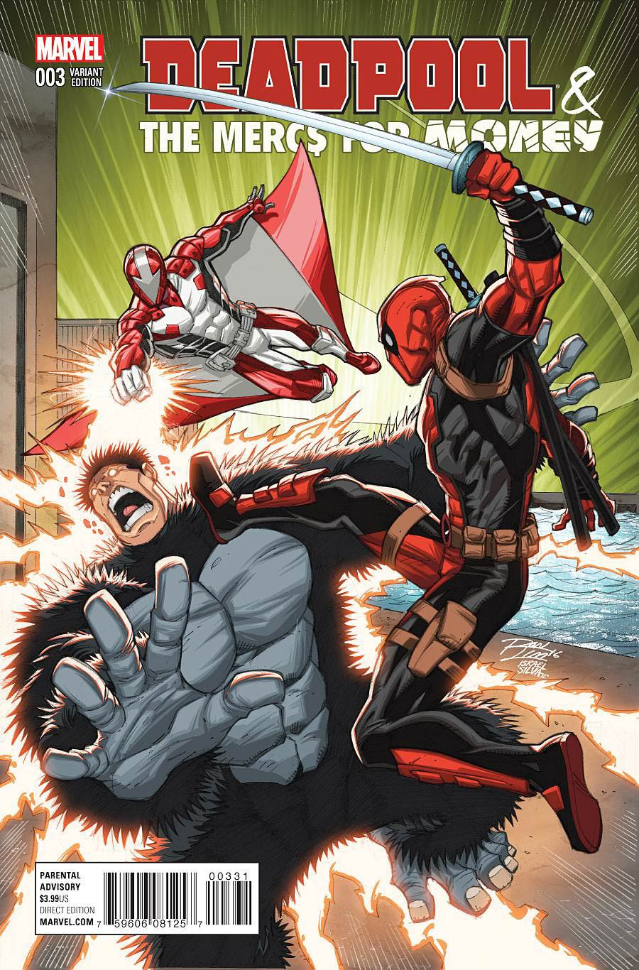 Deadpool And The Mercs For Money #3 Cover B Variant Ron Lim Cover